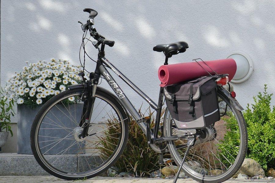 rower z amortyzatorami